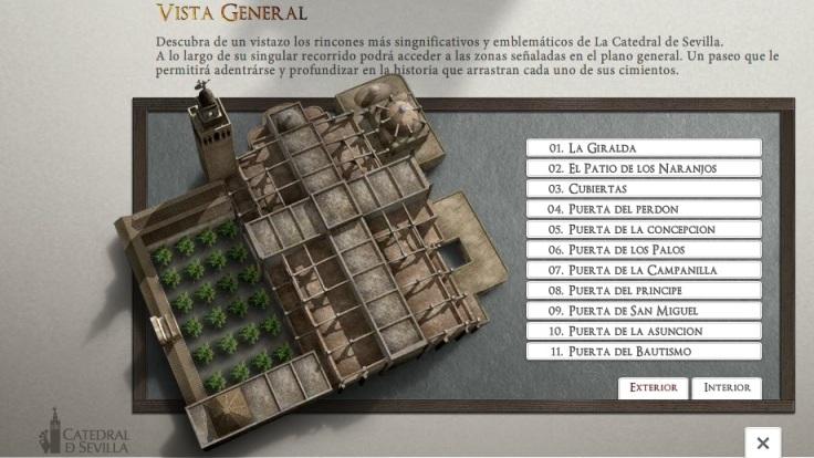 katedraali-malli, La Giralda, Sevilla