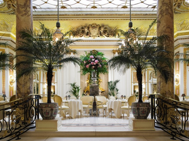 The-Palm-Court-from-Long-Gallery, Ritz London, Lontoo