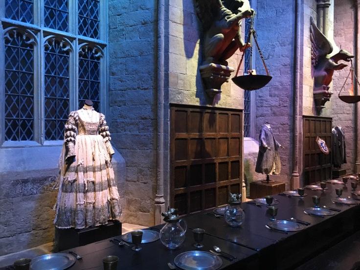 Harry Potter, Tylypahka, koulupuku, Lontoo, London