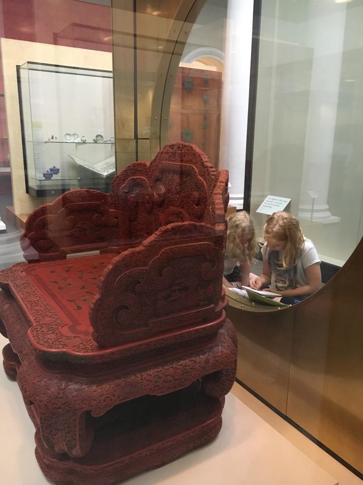 Victoria and Albert, V&A, museot, Kiina, Victoria