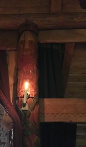 Viikinkikeskus, Rosala, päällikön halli, lounas, keskiaika, viikingit