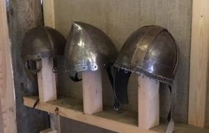 Keskiaika, kypärät, viikingit, Rosala