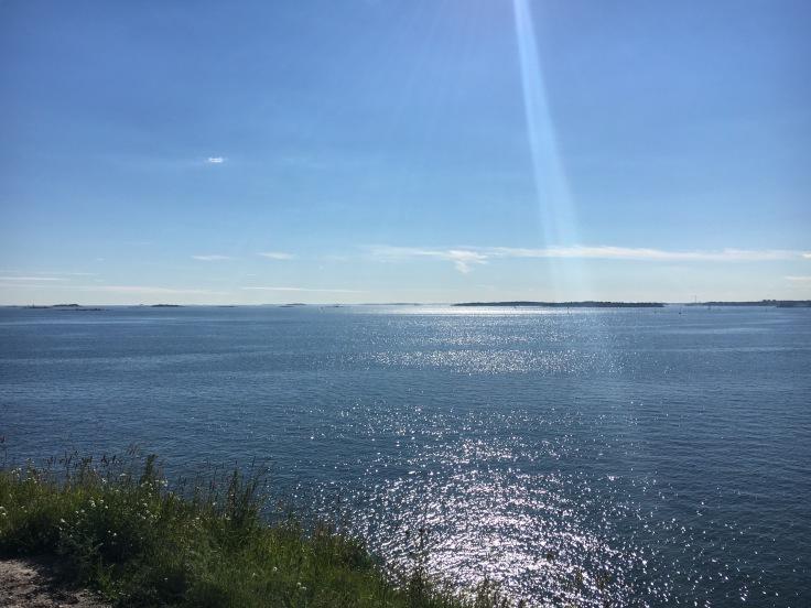 IMG_5589, Suomenlinna, kesä, meri, näköala, Vallisaari, Lonna, saarihyppely