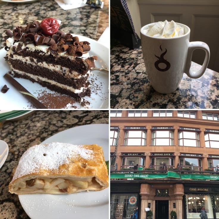 CCB04FC4-2C27-40D9-A6F4-7E4BED1314AF, kahvila, kahvittelu, herkut, Praha, Café Orient, kahvi, Eurooppa, kaupunkiloma