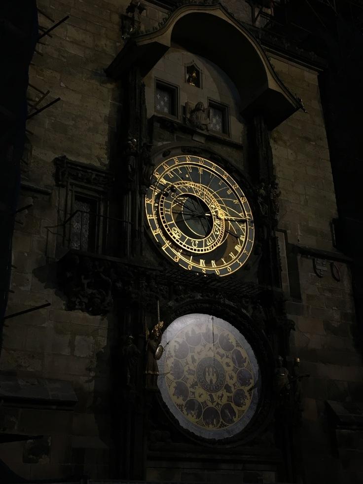 IMG_6956, Praha, astronominen kello, lasten kanssa