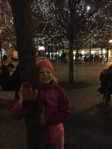 Lasten kanssa, jouluvalot, puistot, joulutorit, Praha