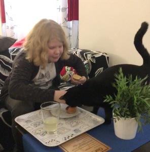 Cat Café, Kissakahvila, Praha, lasten kanssa, kissat, kaupunkiloma