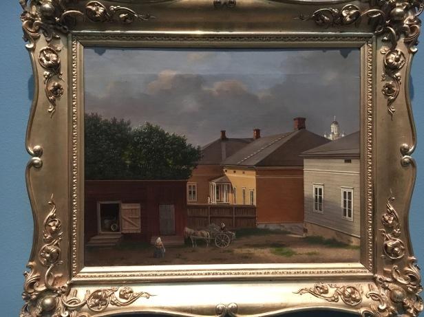 IMG_7238, von Wright, Helsinki, Ateneum, öljymaalaus