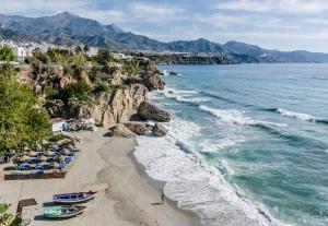 Nerja, Espanja, aurinkorannikko, Costa del Sol, Andalucía
