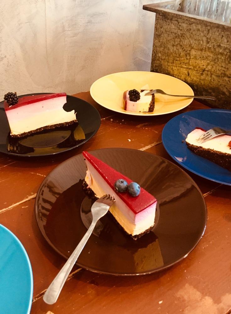 IMG_7651, kahvila, Kinuskilla, Kellokoski, kakkutaivas, kakku, kakkupala, juustokakku