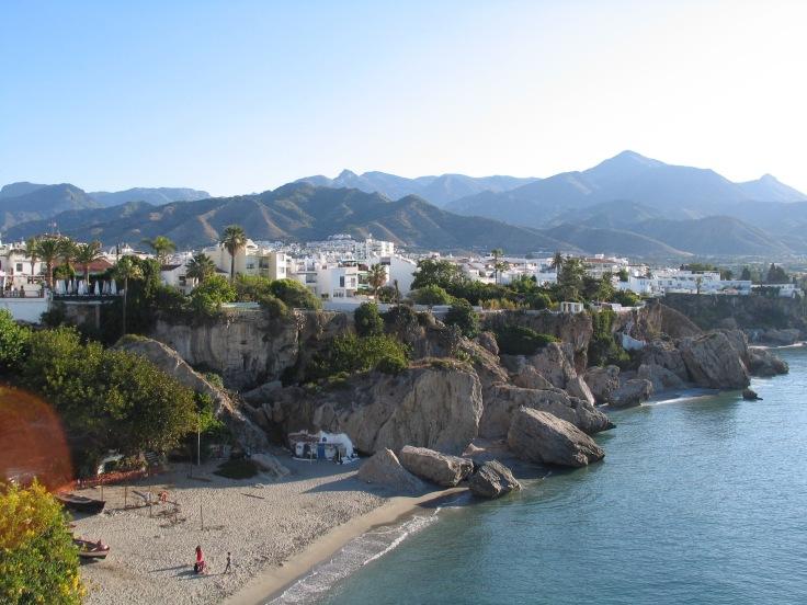IMG_3602, rantaloma, hiekkaranta, Nerja, Espanja, lomamatka