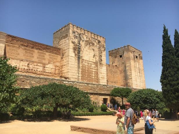 Alhambra, Alcazaba
