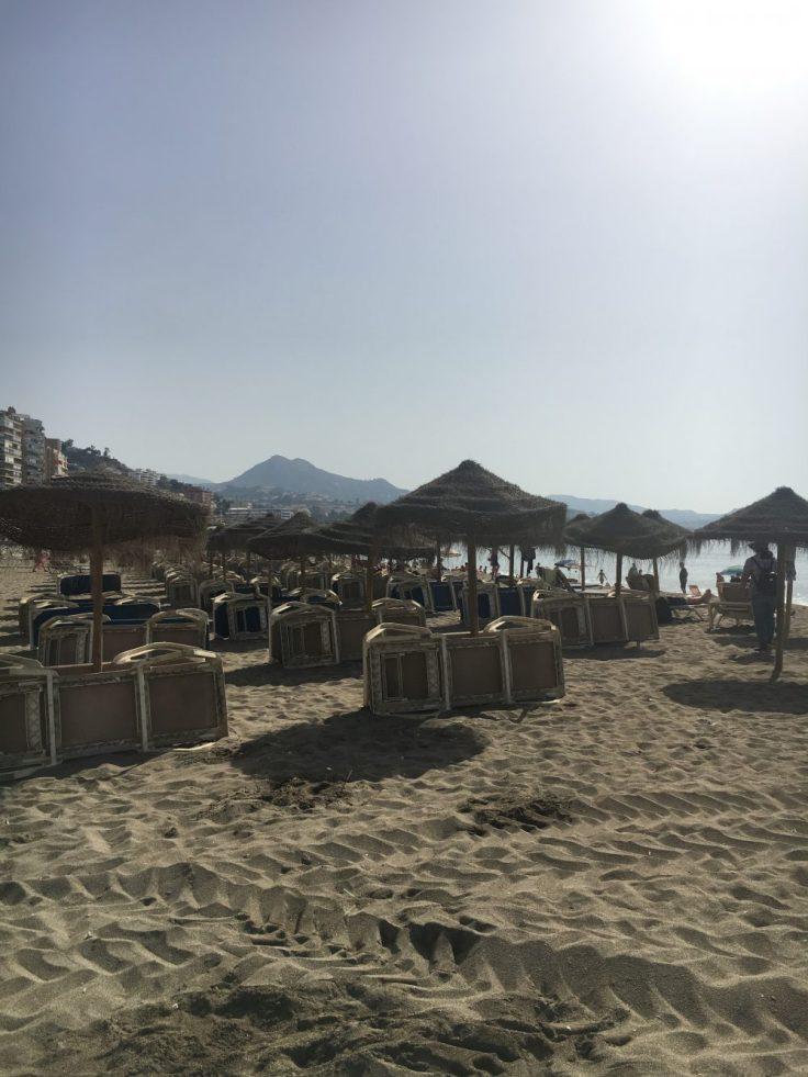 Välimeri, Playa Malagueta, Málaga, Espanja