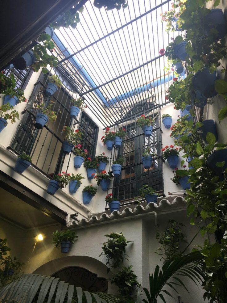 andalucíalainen sisäpiha, patio, Espanja