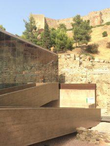 Vierailukeskus, roomalainen teatteri, roomalainen Málaga