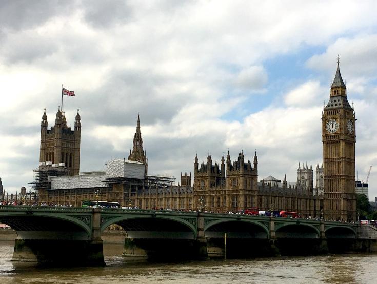 Big Ben ja Parlamentti, Lontoo