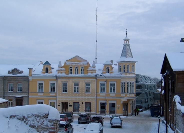 Rakvere, Viro, arkkitehtuuri, Pikk-katu